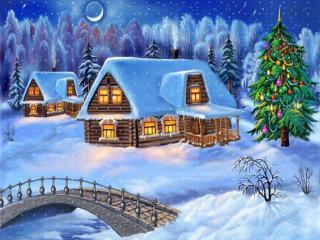 Obrazek: Choinka na Boże Narodzenie